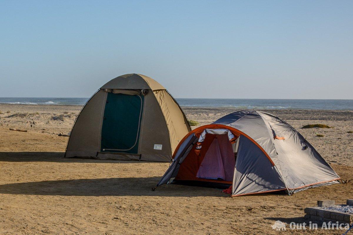 Zelt in Jakkalsputz