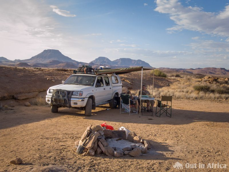 Campsite Nähe Doros-Krater