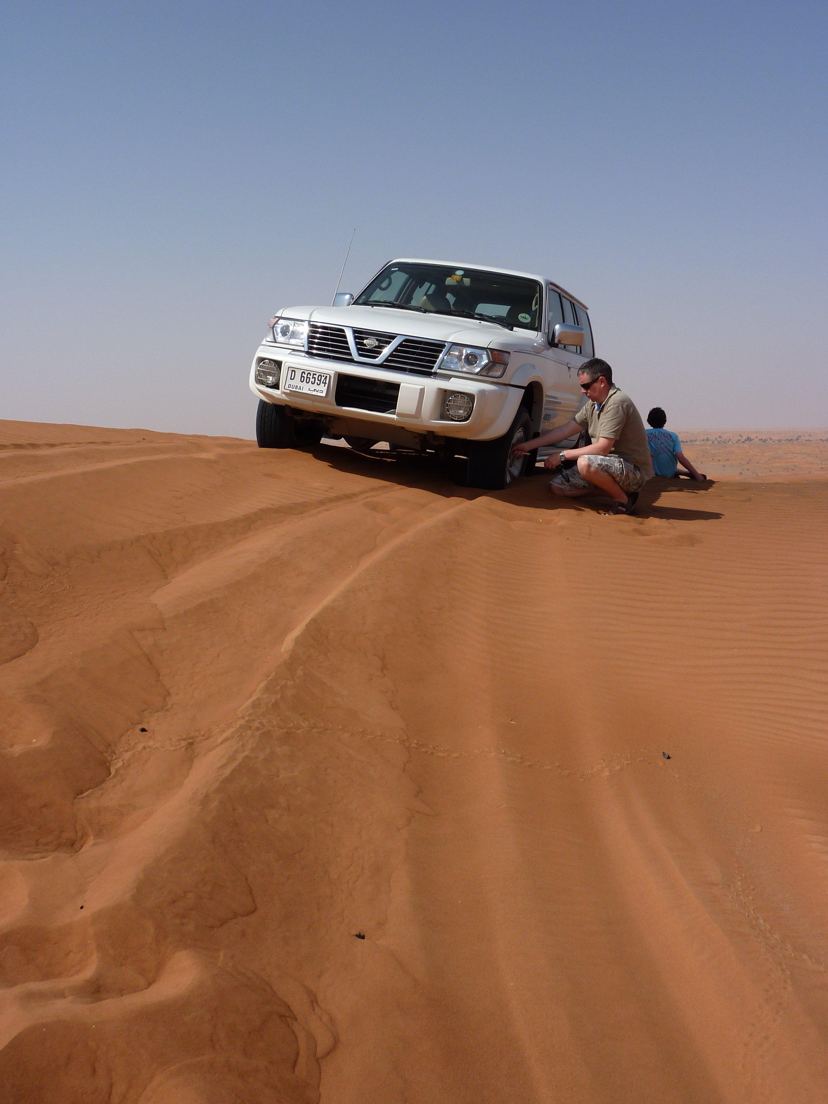 Desert Driving by Bryn Pinzgauer