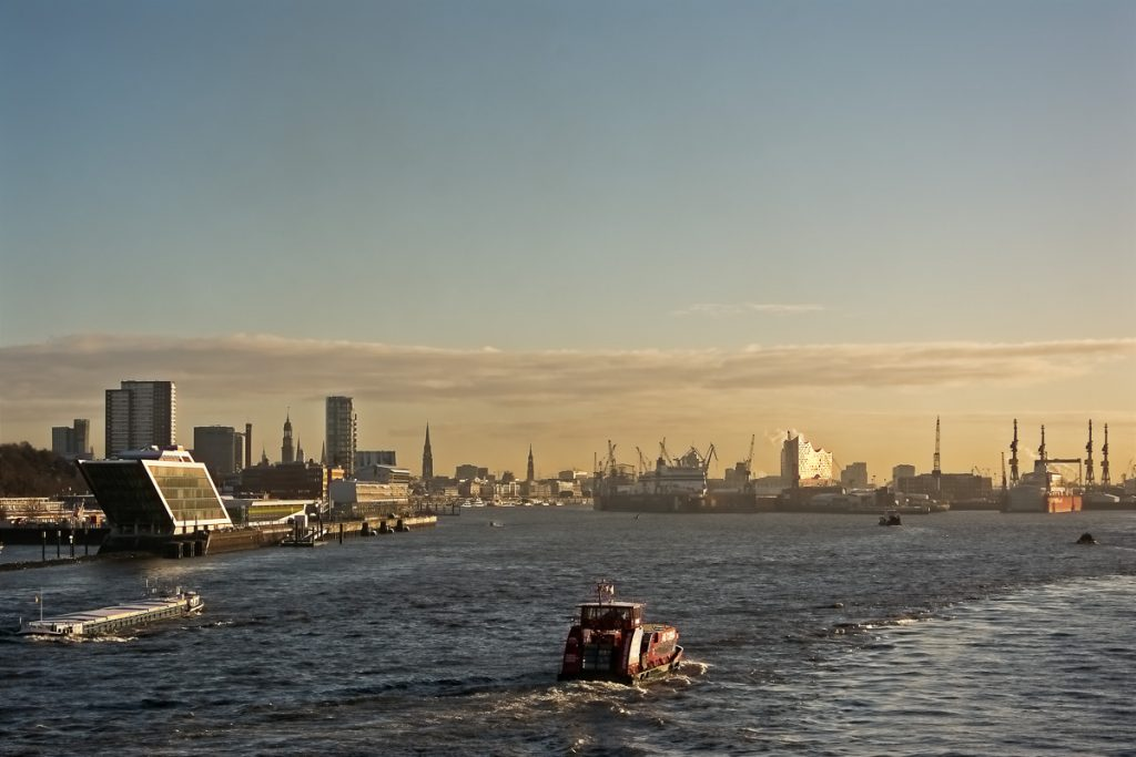 Hamburg with Elbphilharmonie