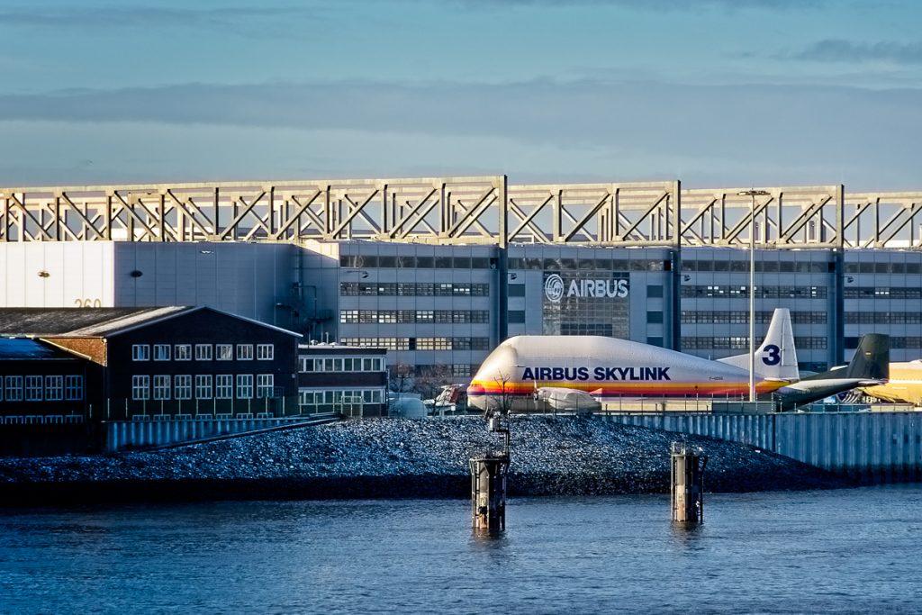 Aircraft at Airbus
