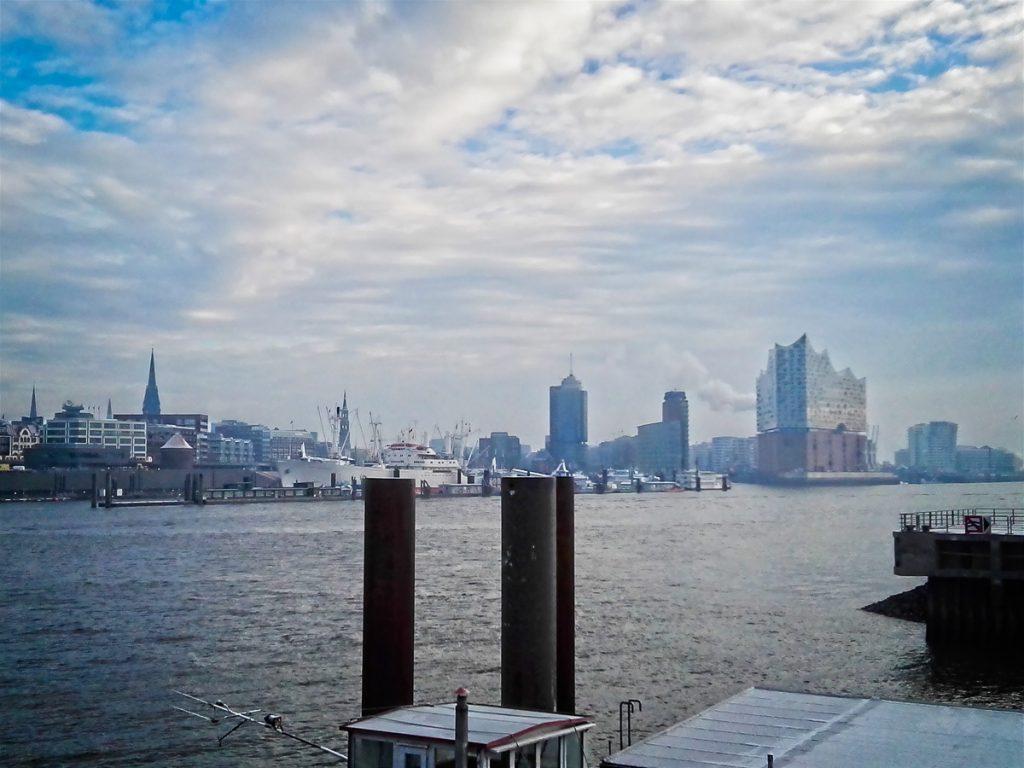 Elbphilharmonie and Hamburg city centre