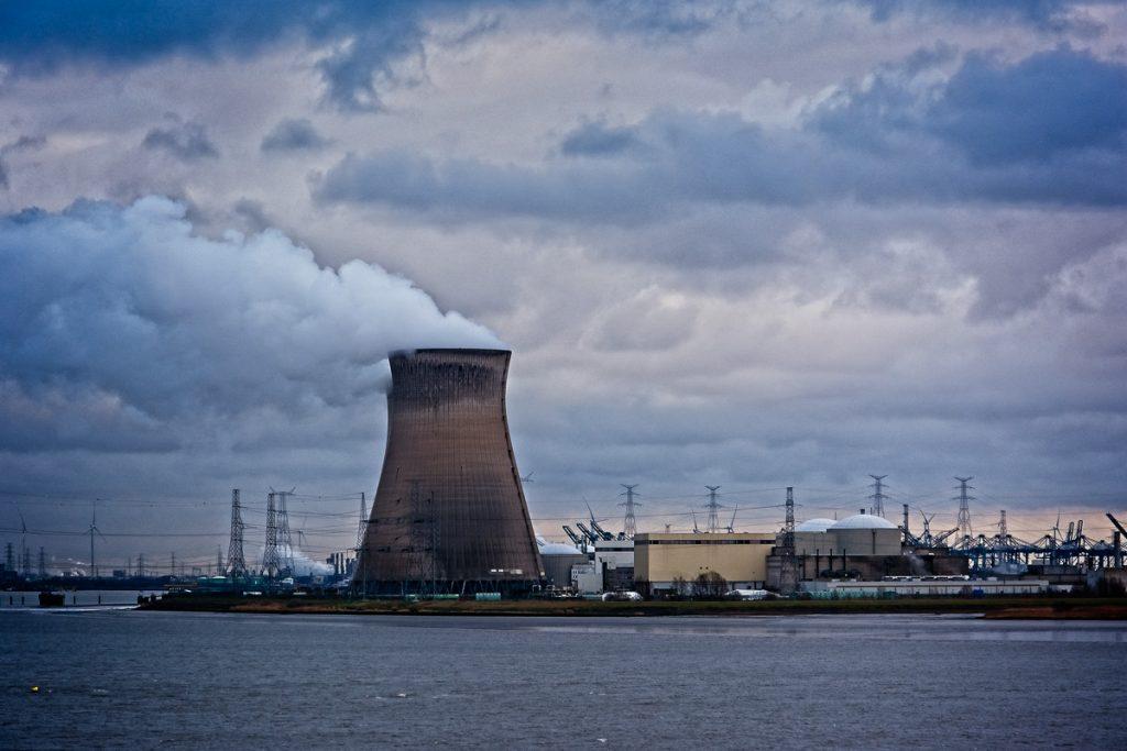 Nuclear power plant near Zandvliet