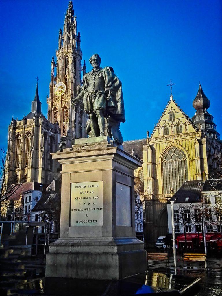 Statue of Peter Paul Rubens