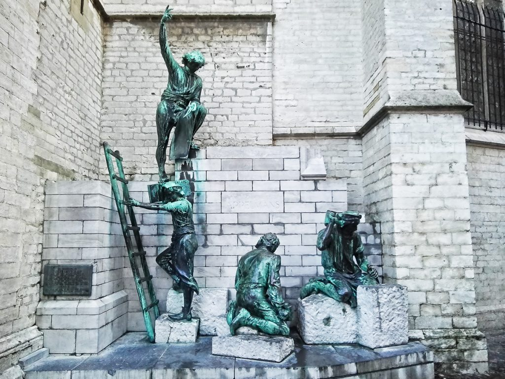 The builders of the cathedral