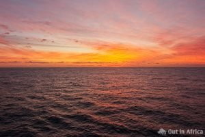 Morgenröte Biskaya