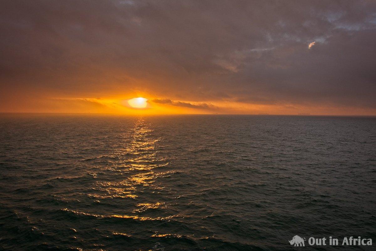Sunrise English Channel