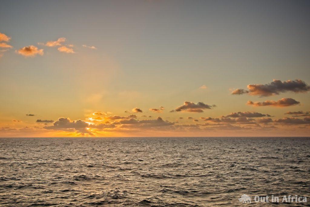 Shortly before sunset