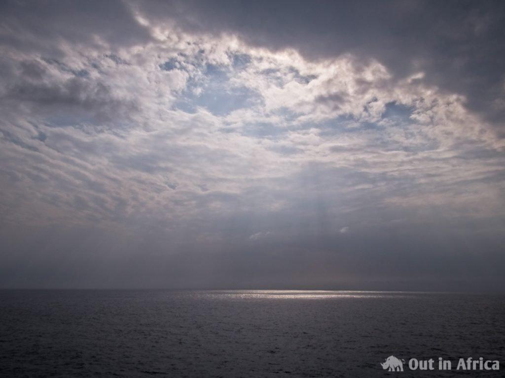 Sonnenstrahlen auf dem Wasser