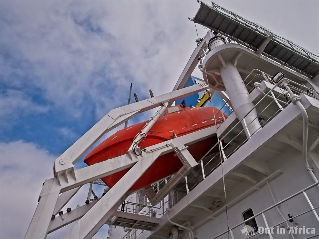 Das große Rettungsboot der Bright Sky