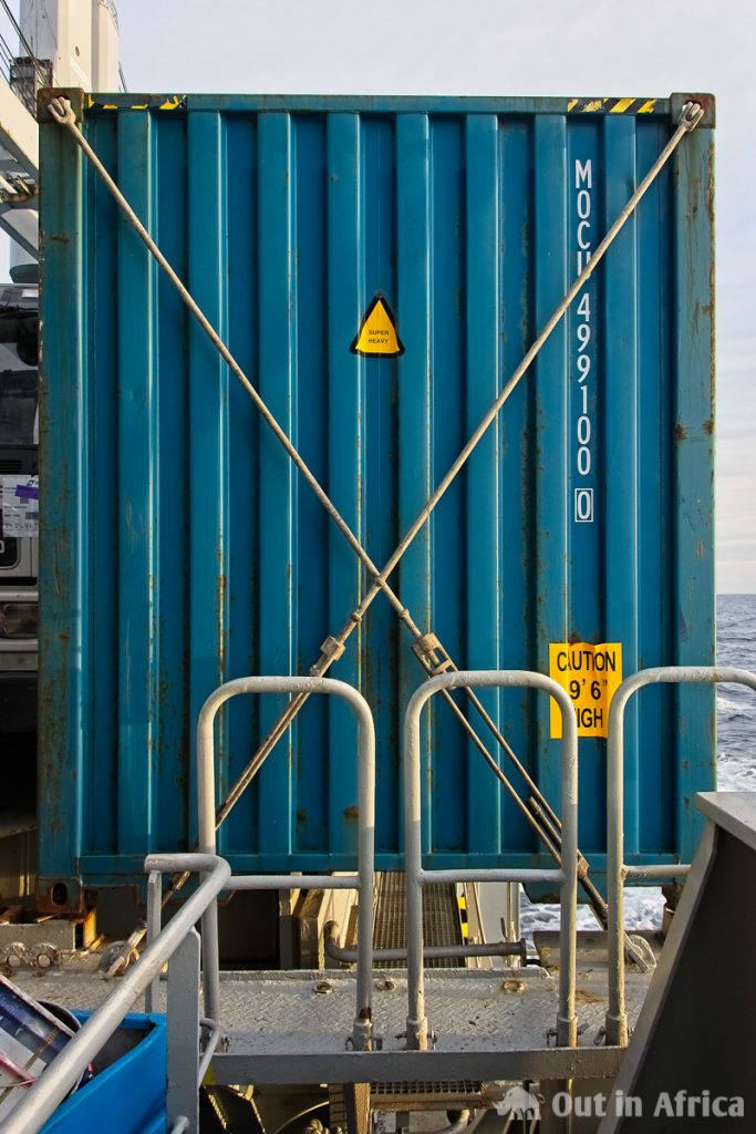 Secured container