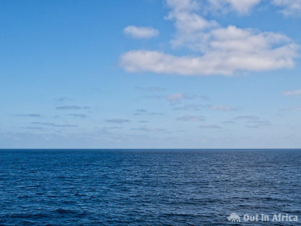 Sky, clouds and sea