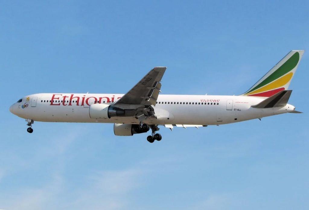 Ethiopian Airlines Airplane