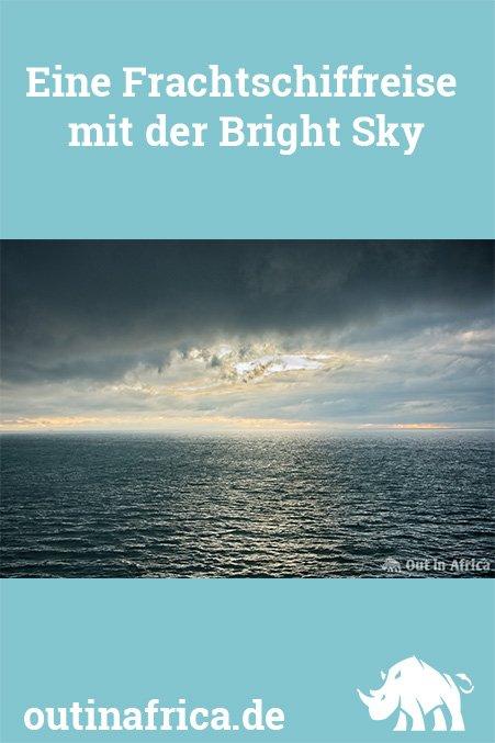 Eine Frachtschiffreise mit der Bright Sky