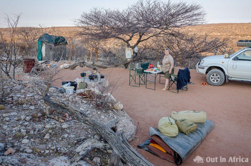 Campsite bei Camp Aussicht