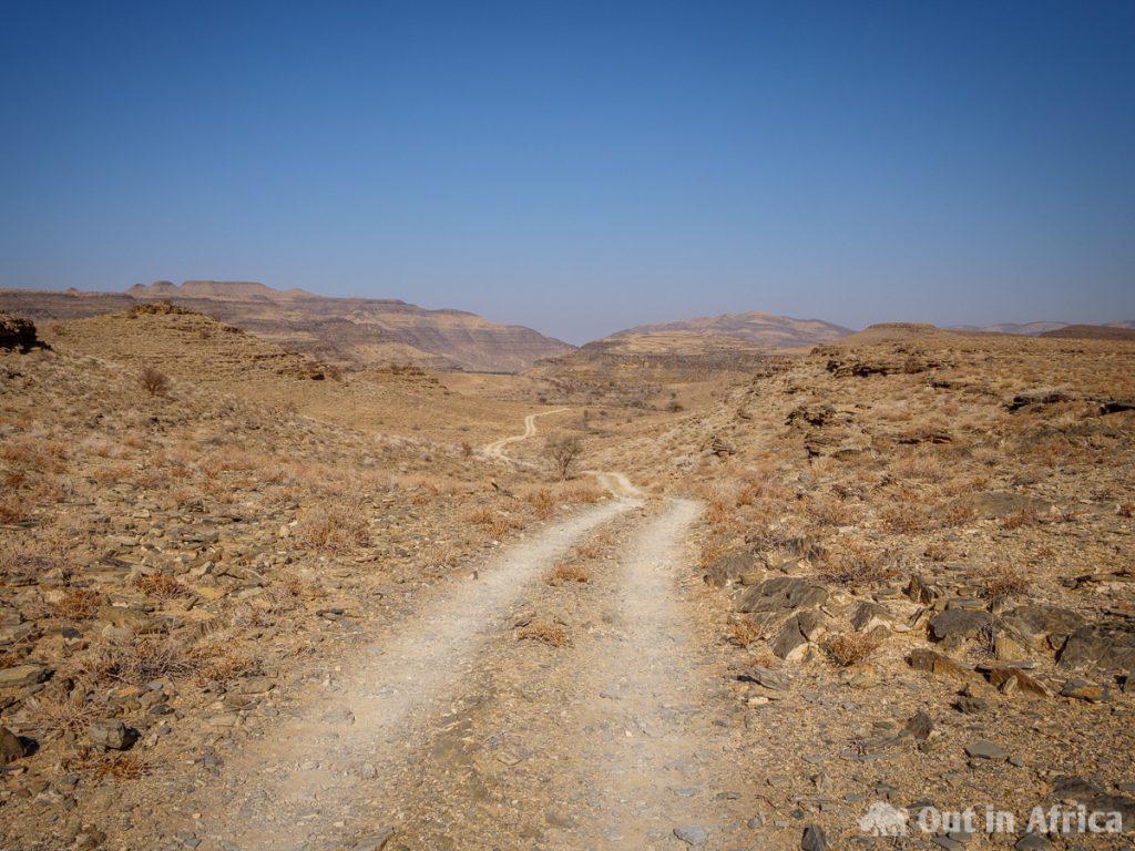 Tweespoor-Weg auf dem Klipspringer 4x4 Trail