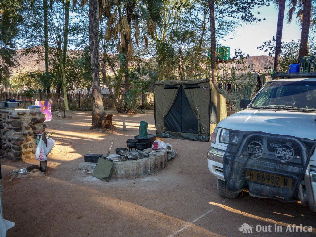 Campsite Epupa Lodge