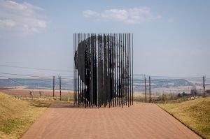 Skulptur Nelson Mandela Capture Site