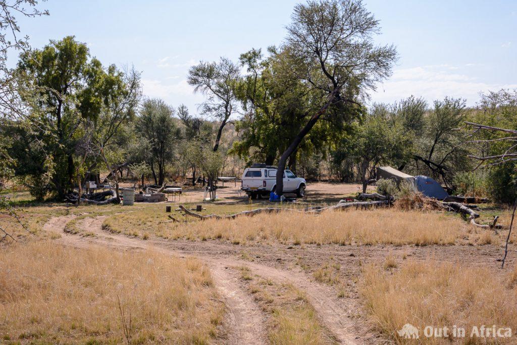 Klipdam Campsite auf Isabis