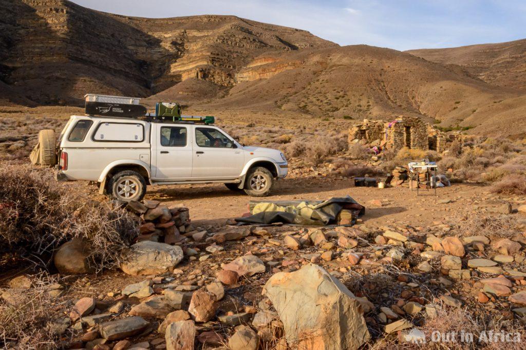 Campsite in der Tankwa Karoo