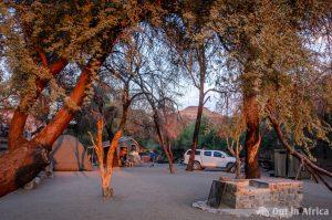 Campingplatz Tsauchab River Lodge