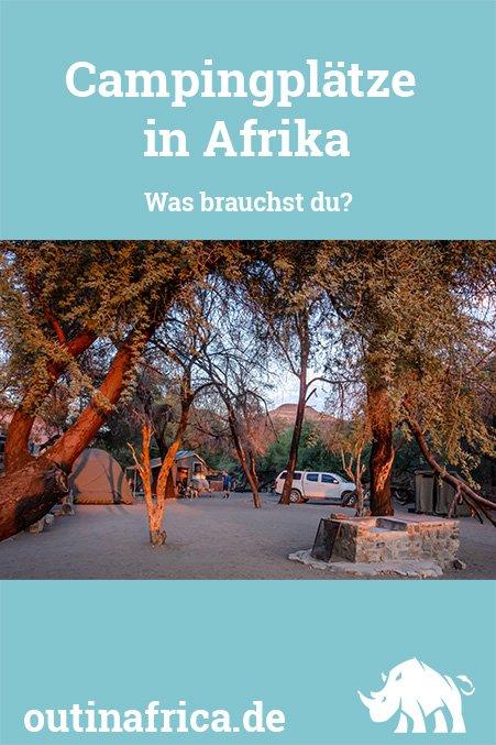 Campingplätze in Afrika