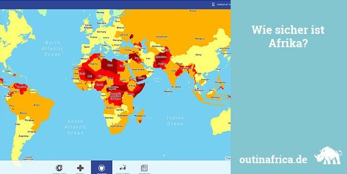 Wie sicher ist Afrika?