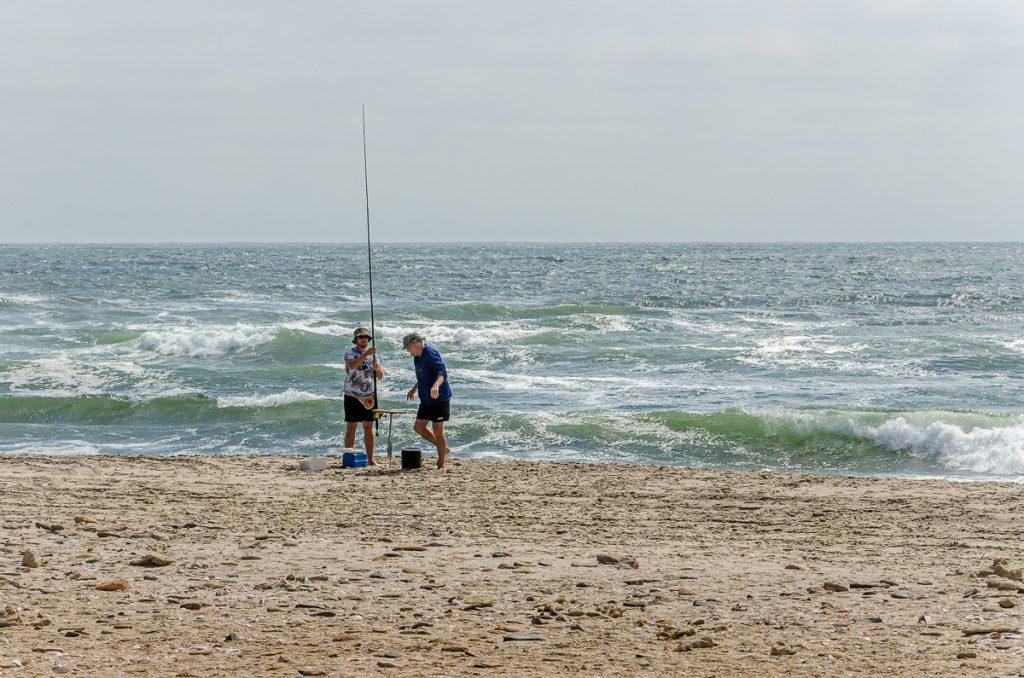 Heiko und Michael angeln
