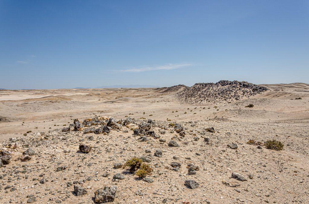 Mitten in der Namib