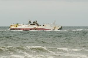 Wrack der Fukuseki Maru No 7