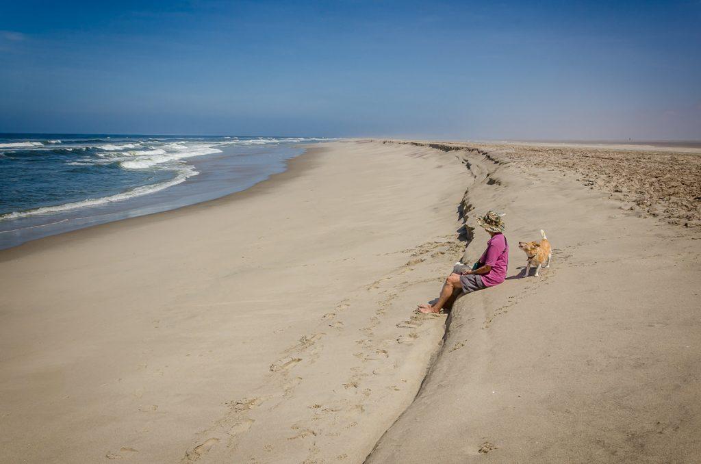 Tägliche lange Strandspaziergänge