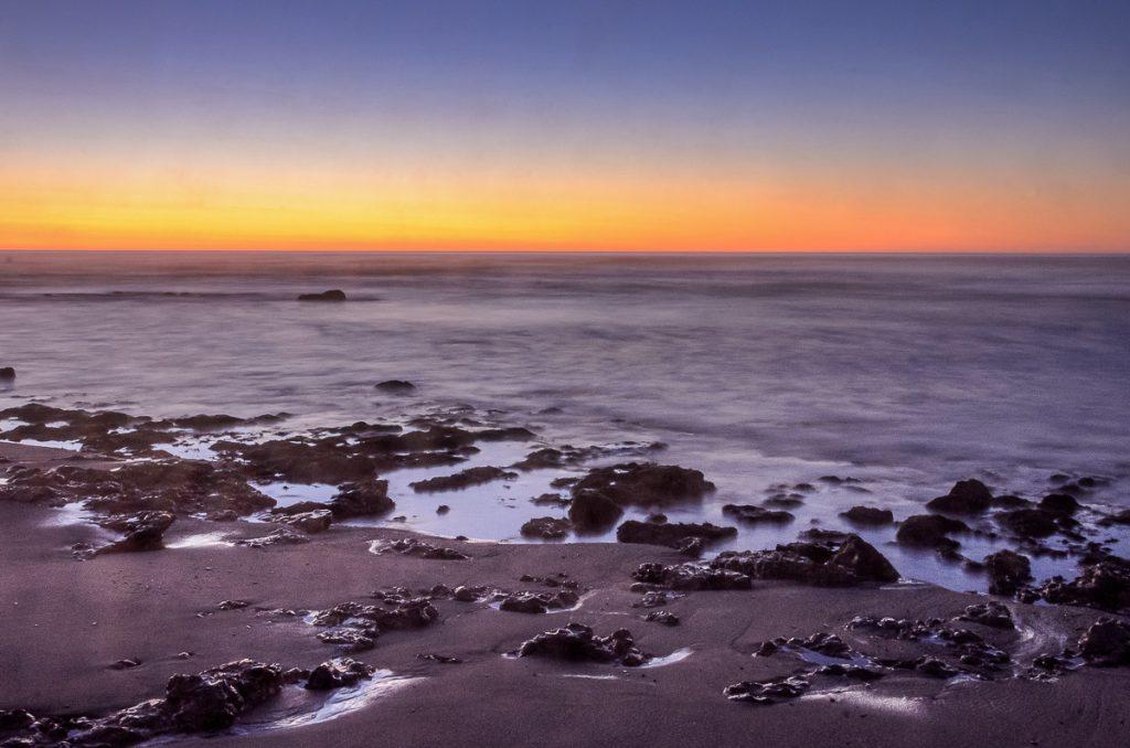 Sonnenuntergang Meile 108