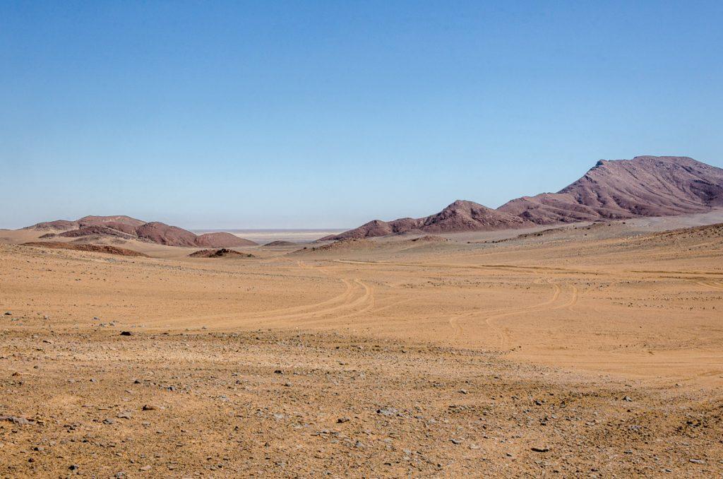 Rand des Kraters mit Blick nach Westen