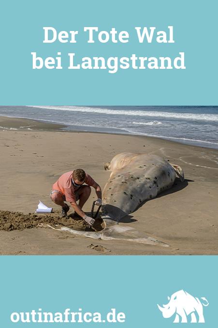 Der Tote Wal bei Langstrand